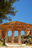 The Temple of Segesta (Sicily) Stock Images