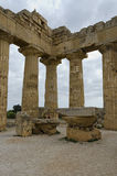 Temple in Selinunte, Sicily Royalty Free Stock Photography