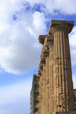 Temple at Selinunte Royalty Free Stock Photo