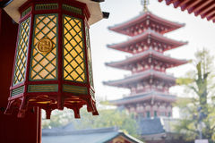 Temple Senso-ji in Tokyo Royalty Free Stock Photo