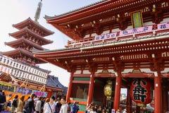 Temple Senso-ji in Tokyo Stock Image