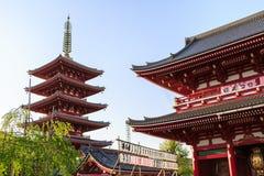Temple Senso-ji in Tokyo Stock Images
