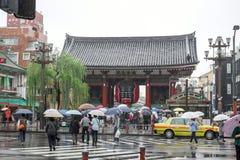 Temple Sensoji de Kannon à Tokyo Photo libre de droits
