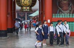 Temple Sensoji de Kannon à Tokyo Photos stock