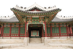 Temple in seoul south korea Stock Photography