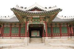Temple in seoul south korea. Temple  architecture in seoul south korea Stock Photography