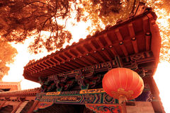 Temple in Shao Lin Royalty Free Stock Images