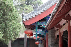 Temple in Shao Lin Stock Photo