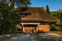 Temple in Shirakawa-go Royalty Free Stock Images