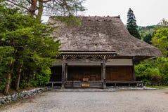 Temple in Shirakawago Stock Photo