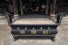 Temple Shrine of Zhangbi Cun Royalty Free Stock Photos