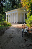 Temple of Sibyl in Lazienki Park in Warsaw, Poland Royalty Free Stock Photo