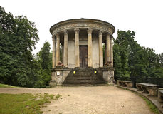 Temple of the Sibyl in Pulawy. Poland.  Stock Image