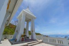 Temple. At Sichang island,Thailand Stock Photos