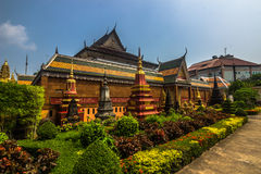 Temple in Siem Reap, Cambodia Royalty Free Stock Image