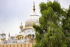 Temple sikh à Lahore photographie stock libre de droits
