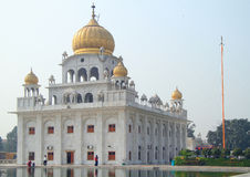 The temple of sikhs in Delhi Royalty Free Stock Photo