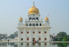 The temple of sikhs in Delhi Royalty Free Stock Images