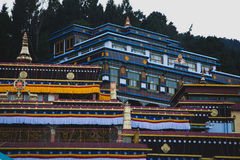 Temple. Sikkim India Temple Buddha Palace Royalty Free Stock Image