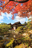 The Temple of the Silver Pavilion of Kyoto, Japan Stock Images