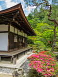 Temple of the Silver Pavilion, Kyoto Stock Photography