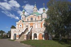 Temple of Simeon Stylites in Veliky Ustyug, Vologda region Stock Image