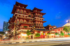 Temple in Singapore Chinatown Stock Photography