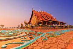 Temple Sirindhorn Wararam Royalty Free Stock Photography