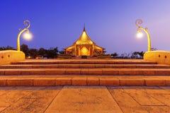 Temple Sirindhorn Wararam Stock Photo