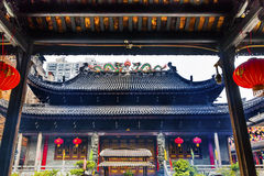 Temple Six Banyan Tree Buddhist Temple Guangzhou Guandong China Royalty Free Stock Photos