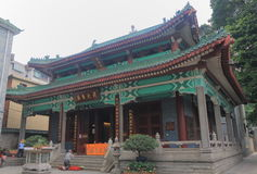 Temple of The Six Banyan Trees Гуанчжоу Китай Стоковое Изображение RF