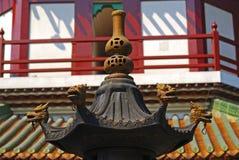 Temple of The Six Banyan Trees, Гуанчжоу, Китай Стоковое Изображение