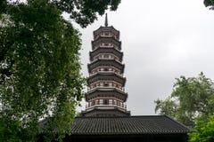 Temple of The Six Banyan Trees Стоковые Изображения RF