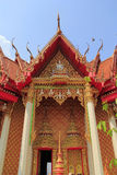 Temple. And sky in Thailand Royalty Free Stock Photography