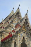Temple. And sky in Thailand Royalty Free Stock Photos