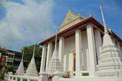 Temple. And sky in Thailand Stock Photography
