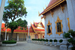 Temple. And sky in Thailand Stock Image