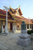 Temple. And sky in Thailand Royalty Free Stock Images