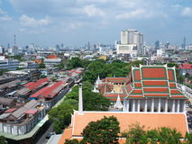 Temple sky view Royalty Free Stock Images