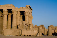The temple of sobek, Kom Ombo, Egypt Stock Photos