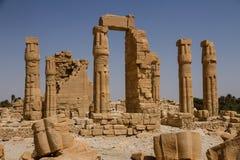 Temple Soudan de Soleb Photo libre de droits