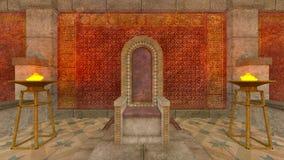 Temple souterrain Images stock