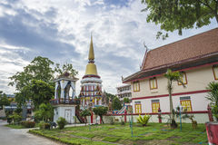 Temple in southern Thailand Royalty Free Stock Image