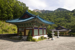 Temple, Southkorea Image stock