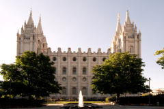 Temple Square Royalty Free Stock Image