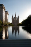 Temple Square Royalty Free Stock Images