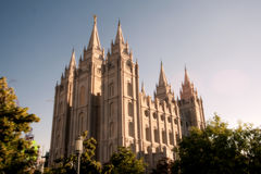 Temple Square Royalty Free Stock Photography