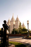 Temple Square Royalty Free Stock Photos