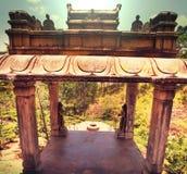 Temple on Sri Lanka Royalty Free Stock Photo