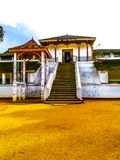 A temple of sri lanka. Rathnapura suman saman temple Royalty Free Stock Images